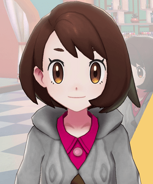 Pokemon Sword and Shield - Hair Salon Thin Eyebrows