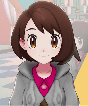 Pokemon Sword and Shield - Hair Salon Eyelashes Natural