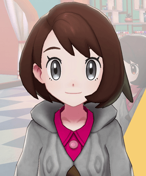 Pokemon Sword and Shield - Hair Salon Eye Color Black