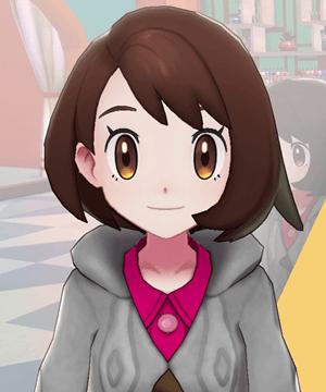 Pokemon Sword and Shield - Hair Salon Eye Color Brown