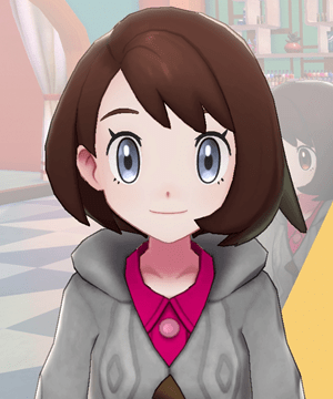 Pokemon Sword and Shield - Hair Salon Eye Color Gray