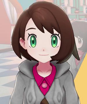 Pokemon Sword and Shield - Hair Salon Eye Color Green