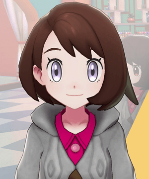 Pokemon Sword and Shield - Hair Salon Eye Color Lavender Ice