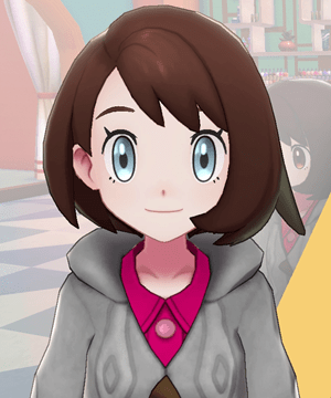 Pokemon Sword and Shield - Hair Salon Eye Color Pale Blue