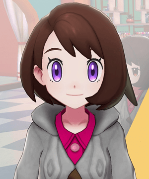 Pokemon Sword and Shield - Hair Salon Eye Purple