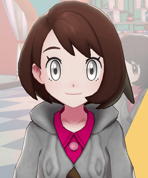 Pokemon Sword and Shield - Hair Salon White