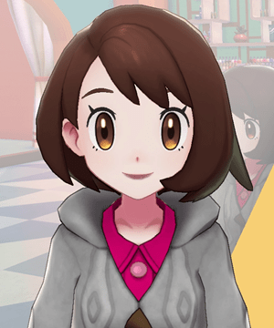 Pokemon Sword and Shield - Hair Salon Lip Color Maroon
