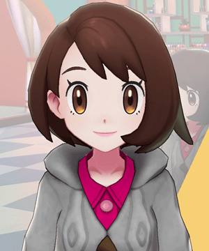 Pokemon Sword and Shield - Hair Salon Lip Color Pink