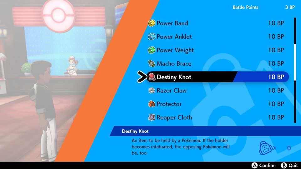 Pokemon Sword and Shield - Destiny Knots