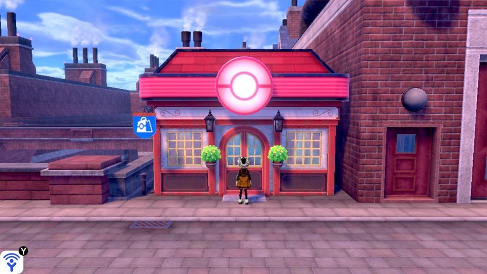 Pokemon Sword and Shield - Poke Mart Shop Items