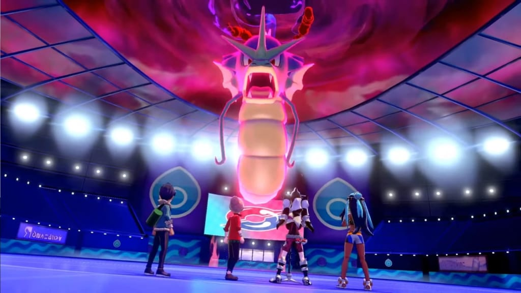 Pokemon Sword and Shield - Wild Dynamax Gyarados (Hulbury)