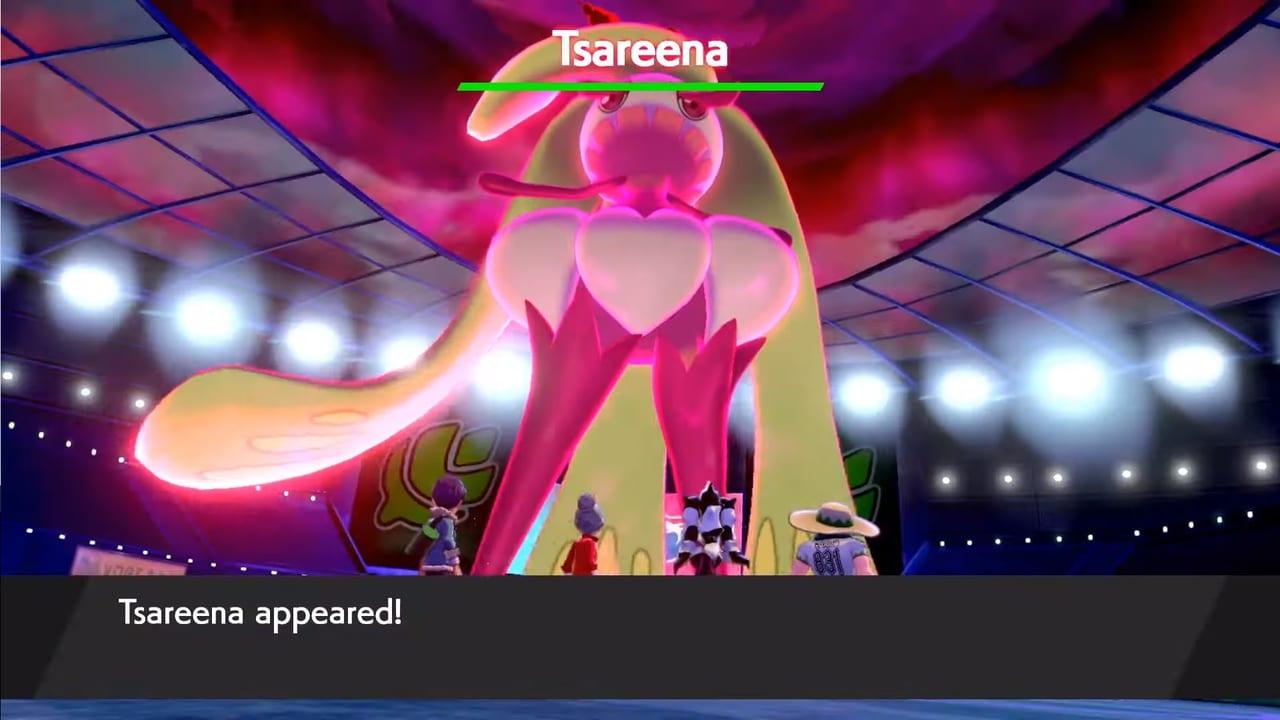 Pokemon Sword and Shield - Wild Dynamax Tsareena ...