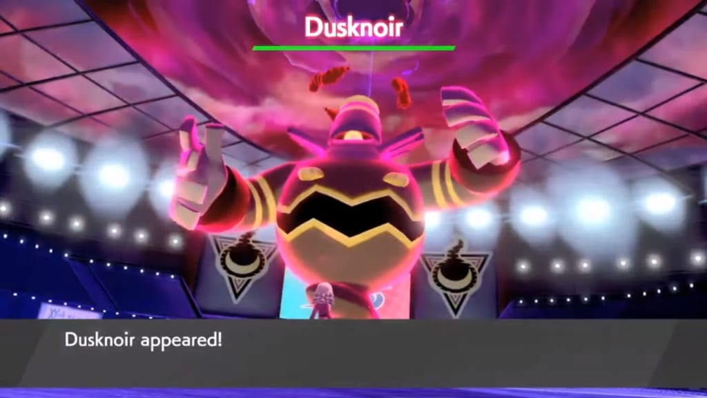 Pokemon Sword and Shield - Wild Dynamax Dusknoir (Stow-on-Side)