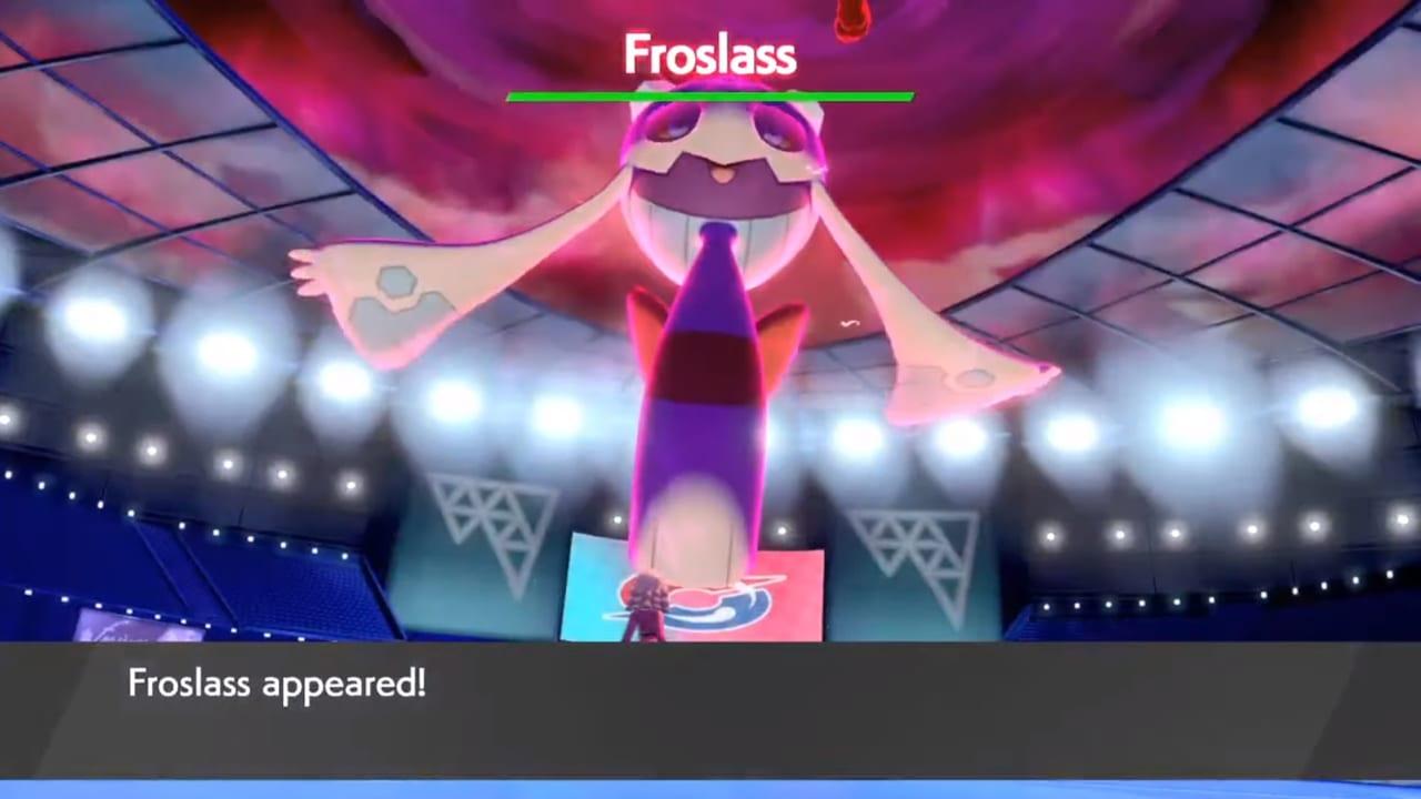 Pokemon Sword and Shield - Wild Dynamax Froslass ...