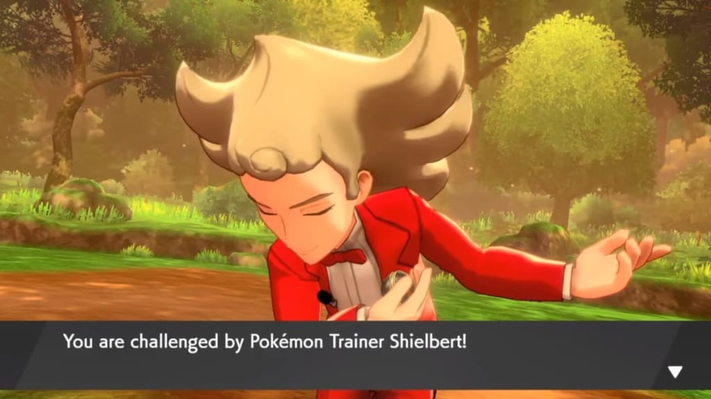 Pokemon Sword and Shield - Shielbert (Slumbering Weald)