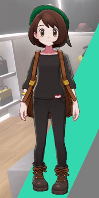 Pokemon Sword and Shield - Wedgehurst Boutique Loose Top Black