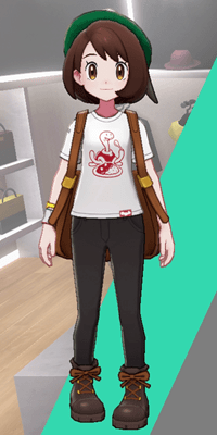 Pokemon Sword and Shield - Wedgehurst Boutique Casual Tee Camp Curry