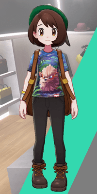 Pokemon Sword and Shield - Wedgehurst Boutique Casual Tee Arcanine Art