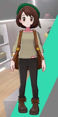 Pokemon Sword and Shield - Wedgehurst Boutique Loose Top Tan