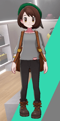 Pokemon Sword and Shield - Wedgehurst Boutique Loose Top Gray