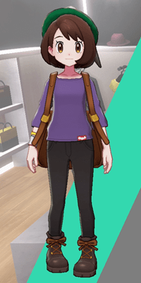 Pokemon Sword and Shield - Wedgehurst Boutique Loose Top Purple