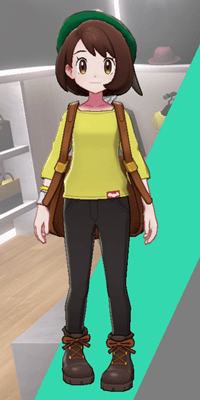 Pokemon Sword and Shield - Wedgehurst Boutique Loose Top Yellow