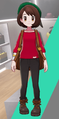 Pokemon Sword and Shield - Wedgehurst Boutique Loose Top Red
