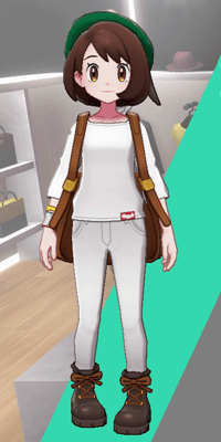Pokemon Sword and Shield - Wedgehurst Boutique Skinny Trousers White
