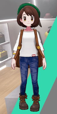 Pokemon Sword and Shield - Wedgehurst Boutique Denim Trousers Navy