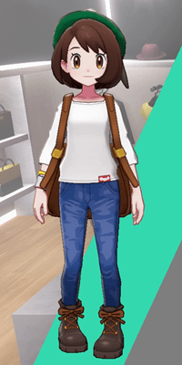 Pokemon Sword and Shield - Wedgehurst Boutique Denim Trousers Blue