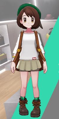 Pokemon Sword and Shield - Wedgehurst Boutique Miniskirt Tan