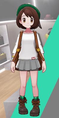 Pokemon Sword and Shield - Wedgehurst Boutique Miniskirt Gray