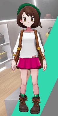 Pokemon Sword and Shield - Wedgehurst Boutique Miniskirt Navy