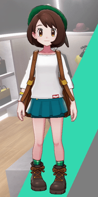 Pokemon Sword and Shield - Wedgehurst Boutique Miniskirt Blue