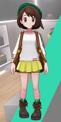 Pokemon Sword and Shield - Wedgehurst Boutique Miniskirt Yellow