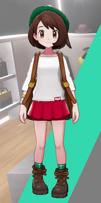 Pokemon Sword and Shield - Wedgehurst Boutique Miniskirt Red