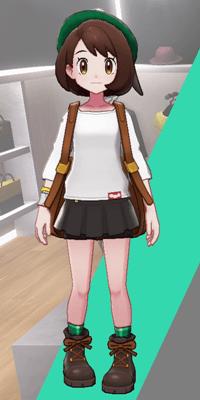 Pokemon Sword and Shield - Wedgehurst Boutique Miniskirt Black