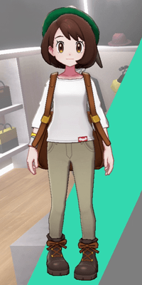 Pokemon Sword and Shield - Wedgehurst Boutique Skinny Trousers Tan