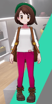 Pokemon Sword and Shield - Wedgehurst Boutique Skinny Trousers Pink