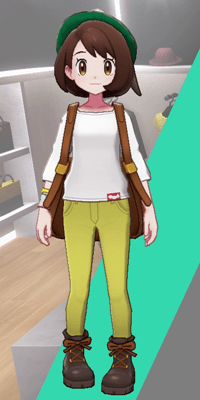 Pokemon Sword and Shield - Wedgehurst Boutique Skinny Trousers Yellow