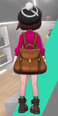 Pokemon Sword and Shield - Wedgehurst Boutique Knit Beret Black Back