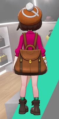 Pokemon Sword and Shield - Wedgehurst Boutique Knit Beret Orange Back
