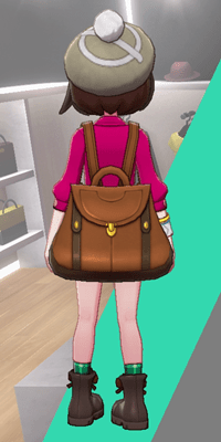 Pokemon Sword and Shield - Wedgehurst Boutique Knit Beret Tan Back