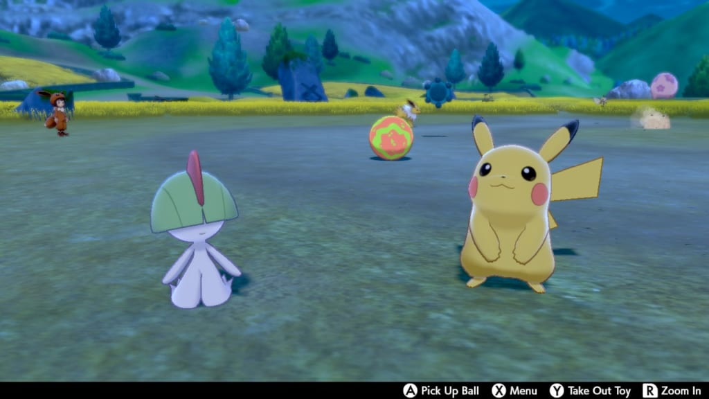Pokemon Sword and Shield - Route 4 Pokemon Camp