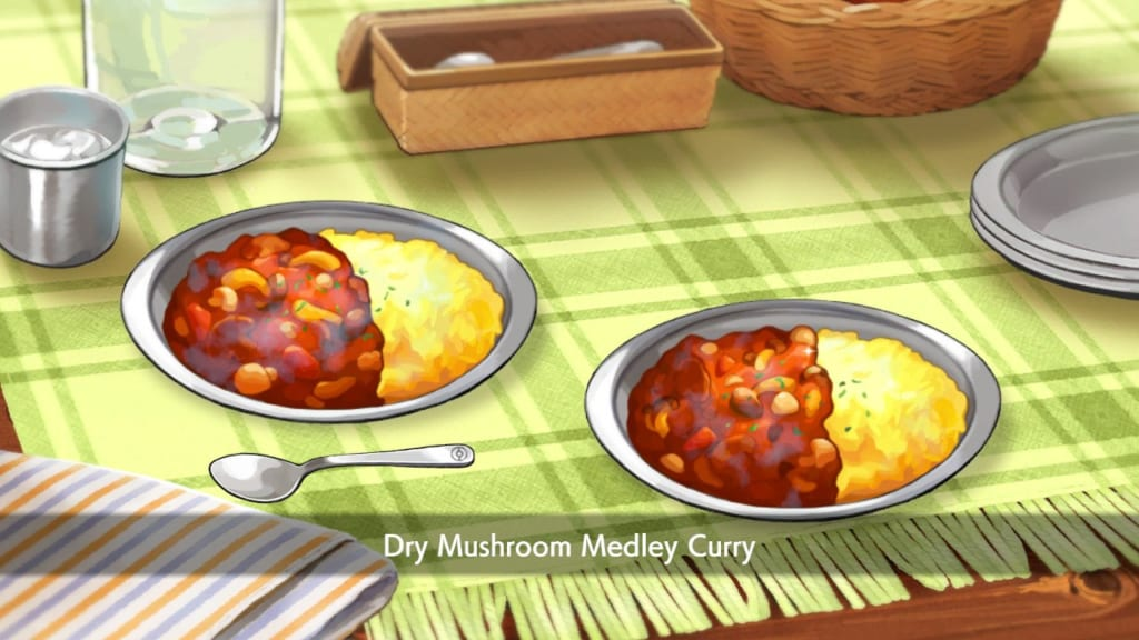 Pokemon Sword and Shield - Dry Mushroom Curry