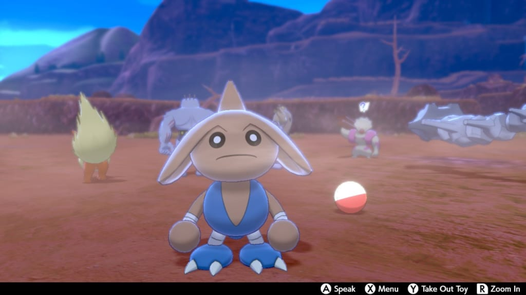 Pokemon Sword and Shield - Route 6 Pokemon Camp