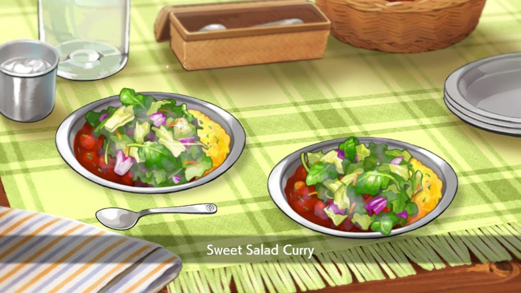 Pokemon Sword and Shield - Sweet Salad Curry