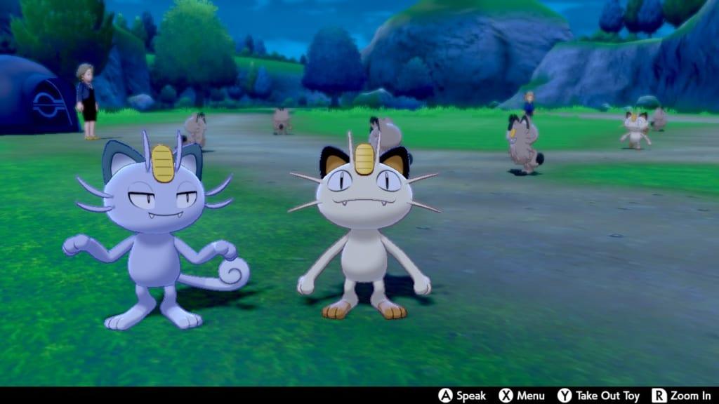 Pokemon Sword and Shield - Route 7 Pokemon Camp
