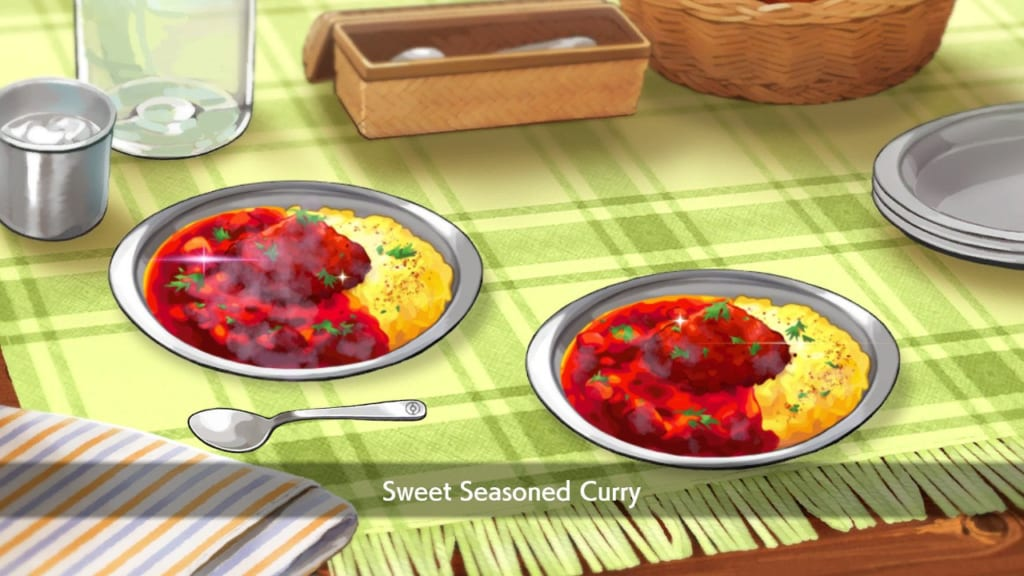 Pokemon Sword and Shield - Sweet Seasoned Curry