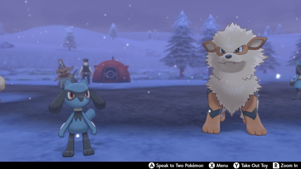 Pokemon Sword and Shield - Route 9 Pokemon Camp